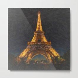 Paris OG Metal Print