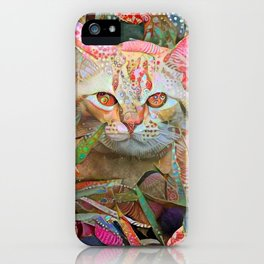 Alice's Cat iPhone Case