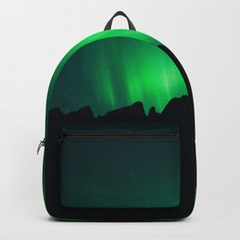 Northern Lights above Sleeping Beasts Backpack