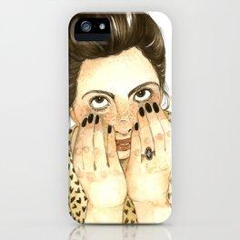 Fo Fo Leon iPhone Case