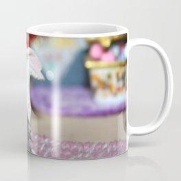 White Bunny Of Christmas Coffee Mug