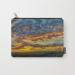 Back Bay Sunrise Colors v Carry-All Pouch