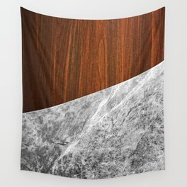 Wooden Marble Wall Tapestry