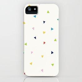 Cute Confetti Pattern iPhone Case