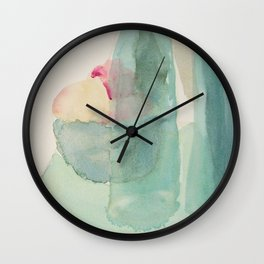 Transparencies with Fruit Wall Clock