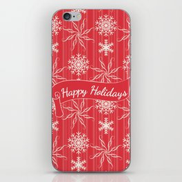 Happy Holidays iPhone Skin
