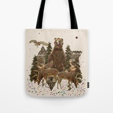 YOUNG SPIRIT IN THE WOODS Tote Bag