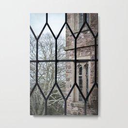 Windows Follow Trees Metal Print