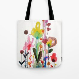 Tote Bag - red leaves green forest by VIDA VIDA Free Shipping Low Shipping Fee Cheap Very Cheap O1Ek3mzr