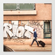 #TAGGING STREETART LIFE BERLIN, GERMANY by Jay Hops Canvas Print