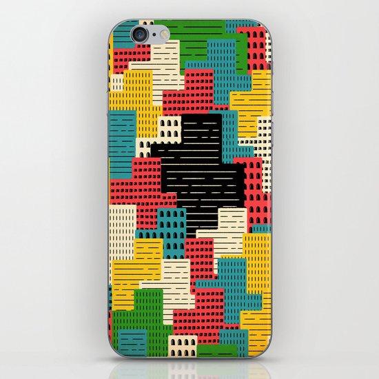 Buildingburgh iPhone & iPod Skin