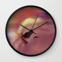 Into the Headwinds Wall Clock