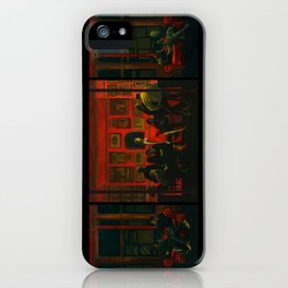 Saturday Night [extended] iPhone Case