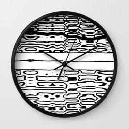 mystery zip Wall Clock