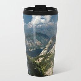 Kotor Bay in Montenegro Travel Mug