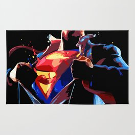 Superman - Secret Identity Rug
