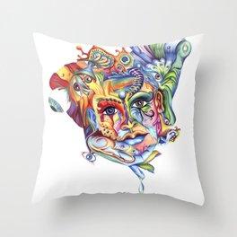 Eye hold my head up high Throw Pillow