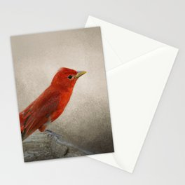 Song of the Summer Tanager 2 - Birds Stationery Cards