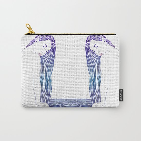 Water Nymph XX Carry-All Pouch