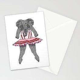 Elephant Ballerina Tutu Stationery Cards