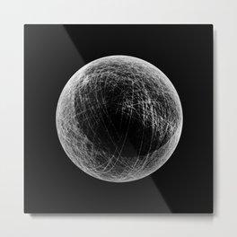 planet B (eclipse) Metal Print