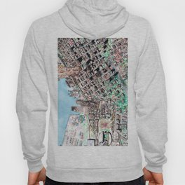 The Seattle Doomsday Map Hoody