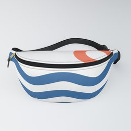 Nautical 02 Seascape Fanny Pack
