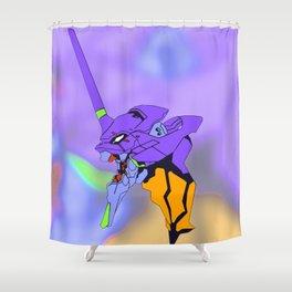 Eva01 Shower Curtain