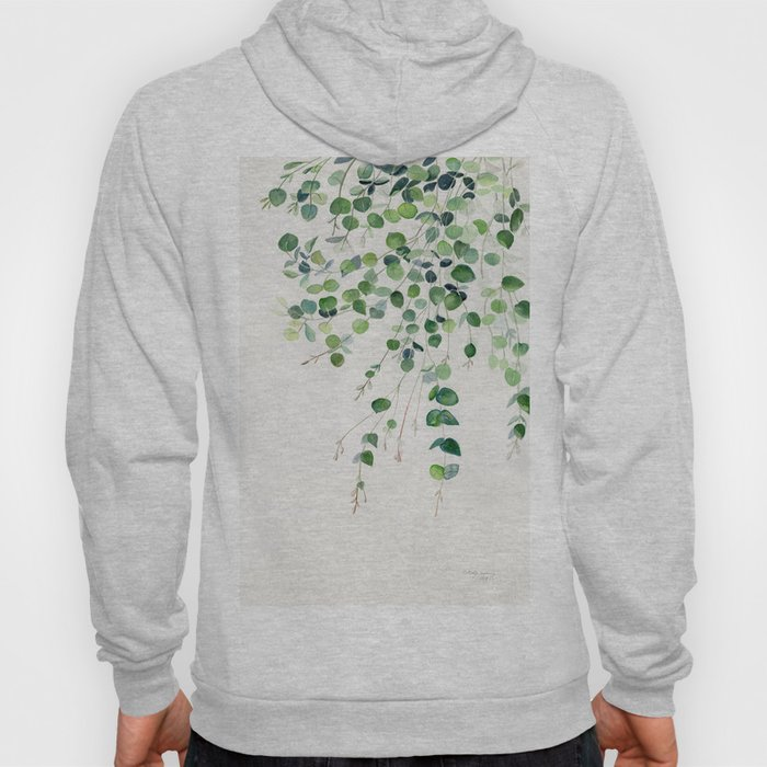 Eucalyptus Watercolor Hoody