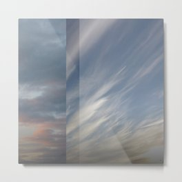 Northern Sky Fragments 8 Metal Print