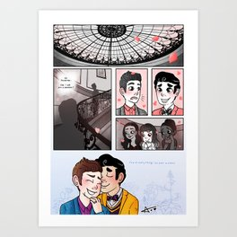 AYNIL - Comic Art Print