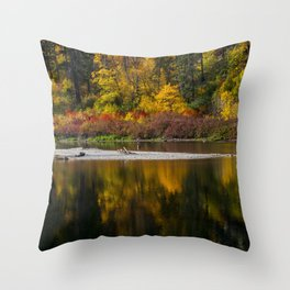Tumwater Autumn Throw Pillow