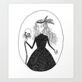 Swamp Witch Art Print