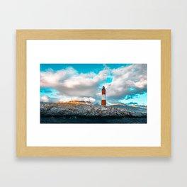 Faro del Fin del Mundo (Faro Les Eclaireurs) I Framed Art Print