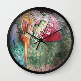 Plight of the Honey Bee Wall Clock