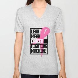 Breast Cancer Awareness Art For Warrior Women Light Unisex V-Neck
