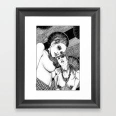 asc 670 - Les gardiennes de la nuit (Come with us) Framed Art Print