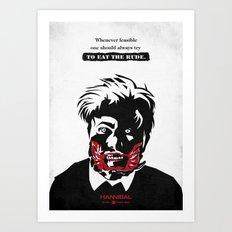 Hannibal - Tome-Wan Art Print