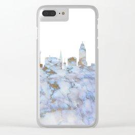 Lincoln Nebraska Skyline Clear iPhone Case