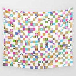Geometric fun Wall Tapestry