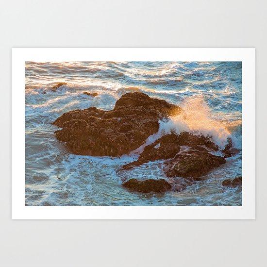Pacifica Coast Art Print