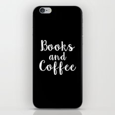 Books and Coffee - Inverted iPhone & iPod Skin
