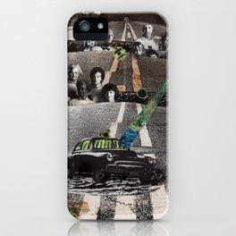 Strange Angels   Collage iPhone Case