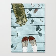 Let's play: Cat Canvas Print