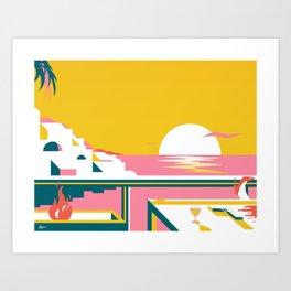 Icaria Art Print