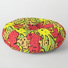 Monsters Floor Pillow