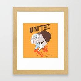 UNITE! Framed Art Print