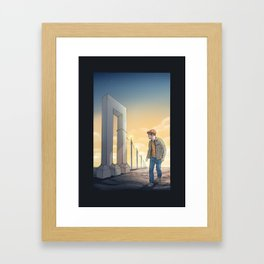 ganù paradoxone Framed Art Print