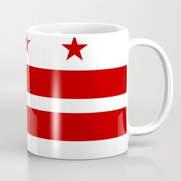 Flag of Washington D.C. Coffee Mug