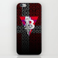 denmark iPhone & iPod Skins featuring bitcoin denmark by seb mcnulty